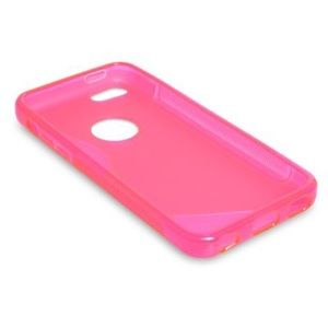 Hot Pink iPhone 6s/6s Plus Silicone Gel Case